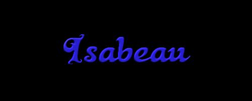"""""""Isabeau"""""""