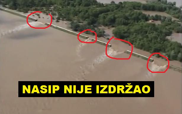 Snimci iz zraka, koje je napravila ekipa BN televizije, pokazali su da ...