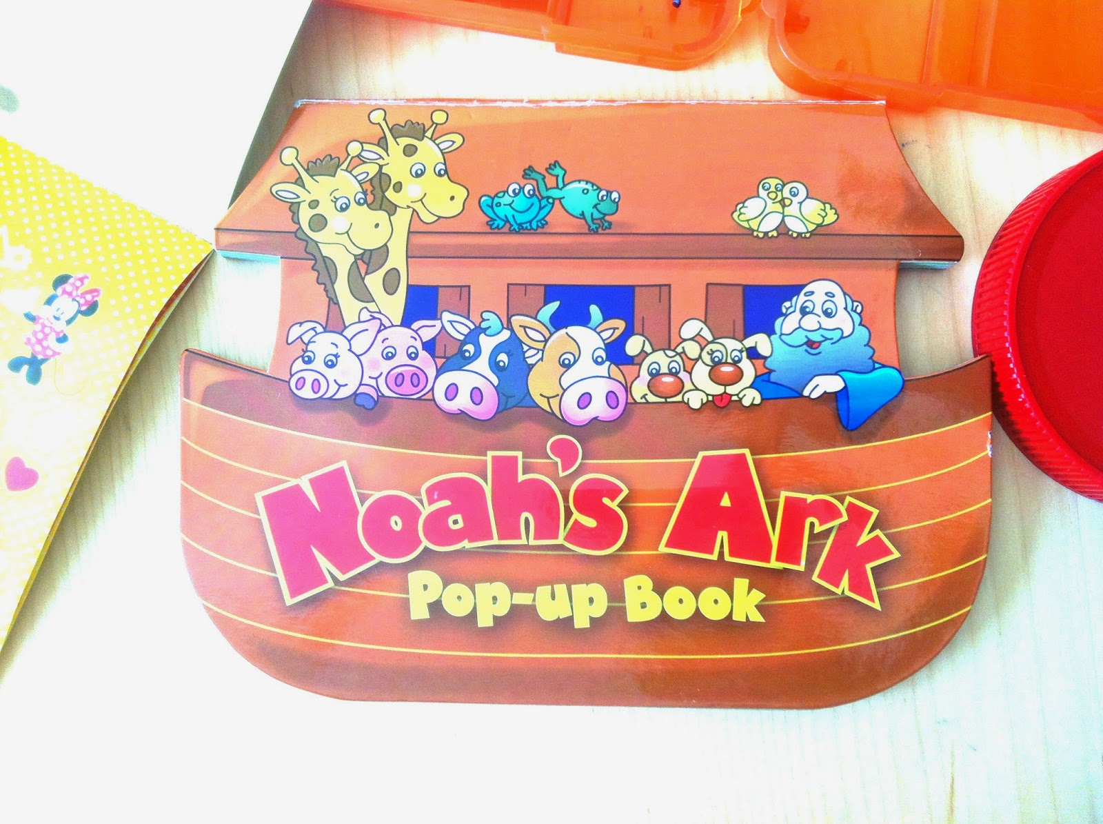 Noah's Ark 3D craft for Kids