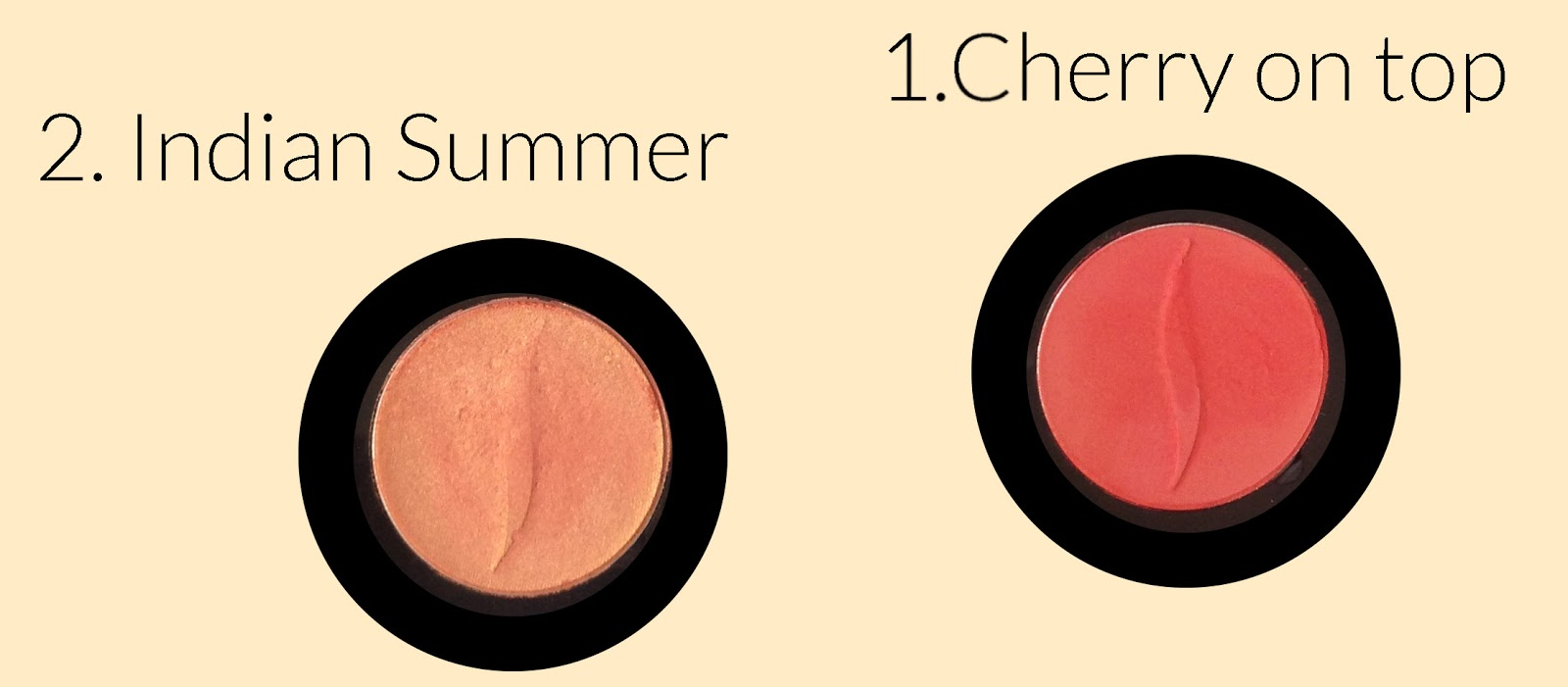 indian summer, cherry on top, eye shadow, beauty, sephora, summer