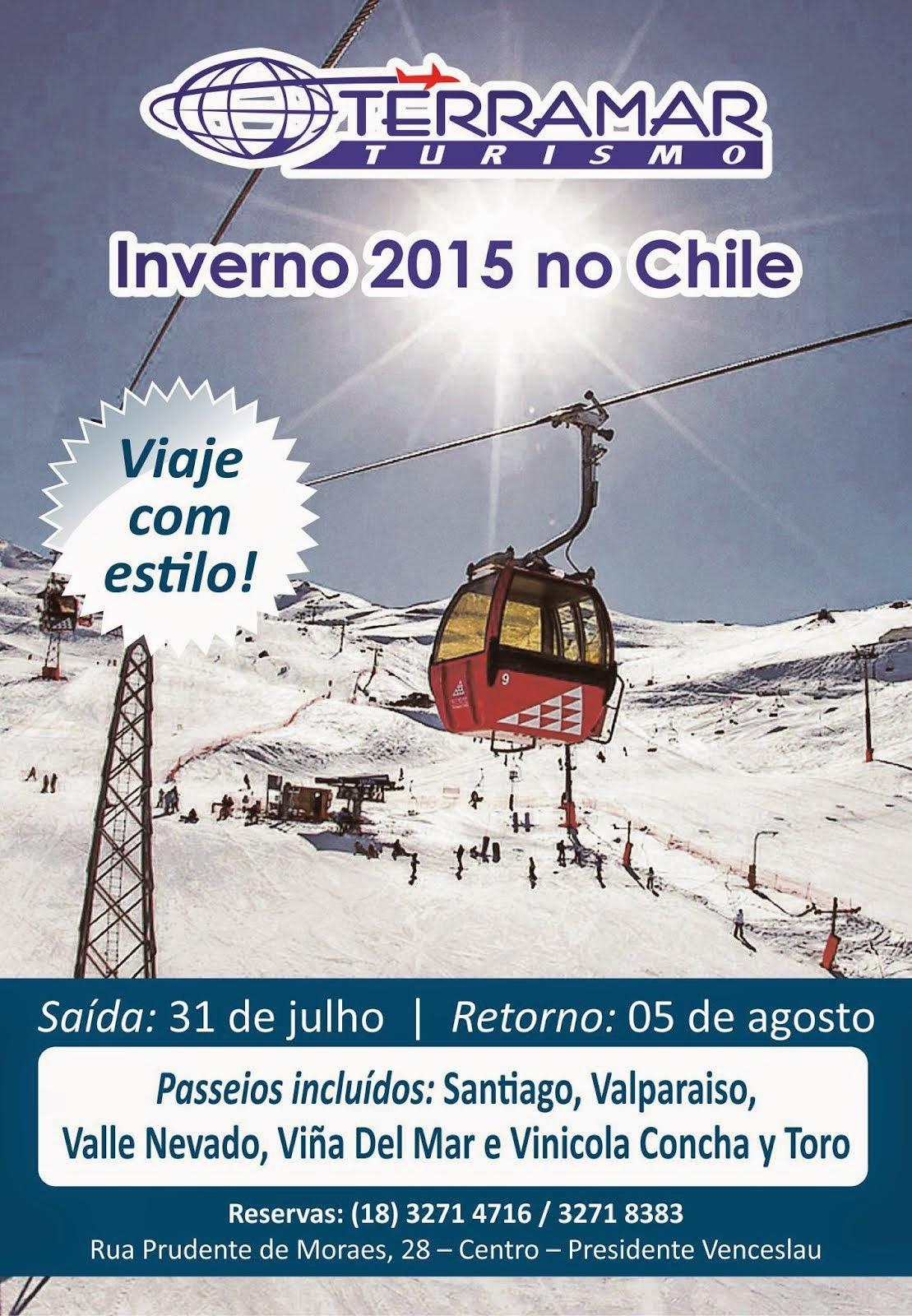 Inverno no Chile é com a Terramar