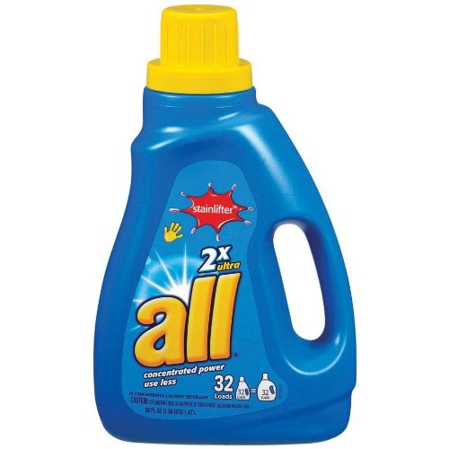 Coupons for all detergent liquid