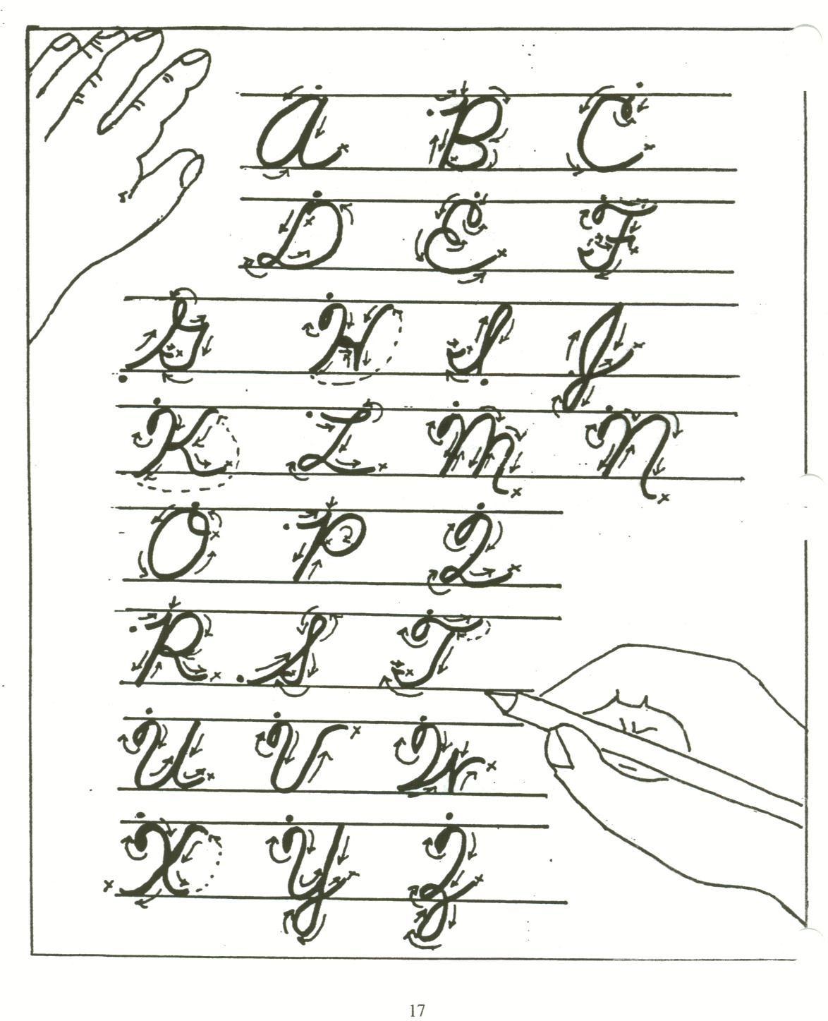 Cursive Letters