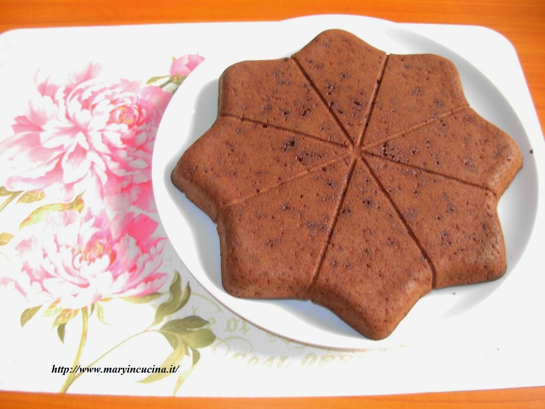 tortina al simil cioccolato (con farina di carrube)