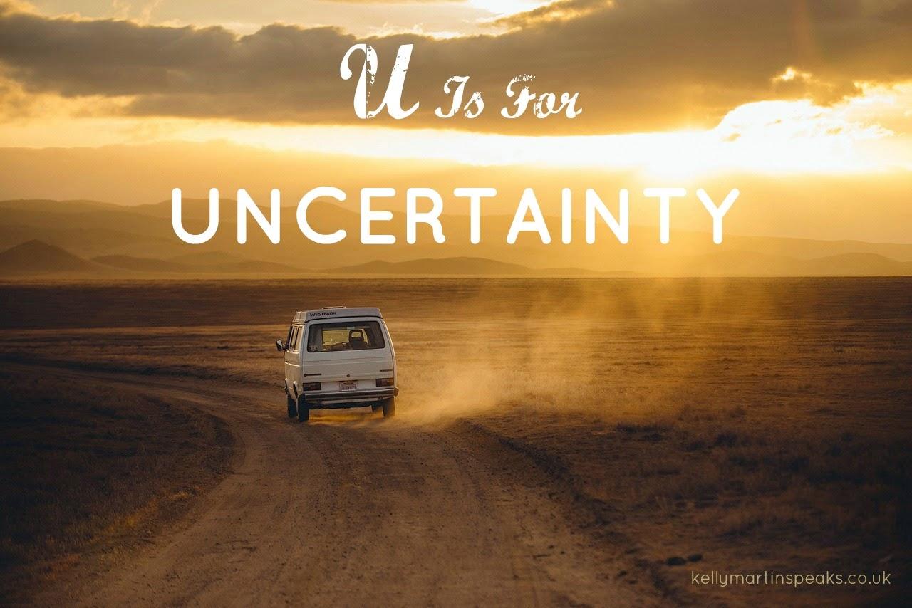 AtoZChallenge Uncertainty Road