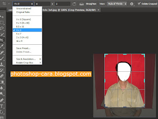 crop foto 3x4 hasil foto 3x4 setelah crop cara mengganti