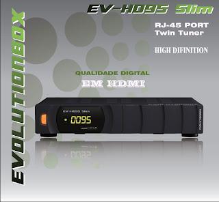 PORTAL Atualização EvolutionBox EV HD95 Slim 25/01