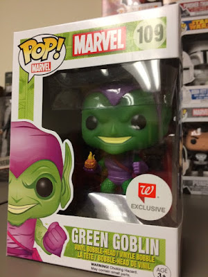 Walgreens Exclusive Spider-Man Pop! Marvel Series 2 by Funko - Green Goblin Vinyl Figure