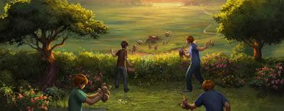 Camera dei Segreti, Capitolo 3: La Tana. La disinfestazione del giardino dagli gnomi.