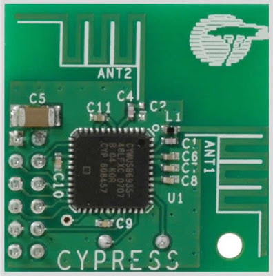 2.4GHz WiFi & ISM Band Scanner Circuit Diagram
