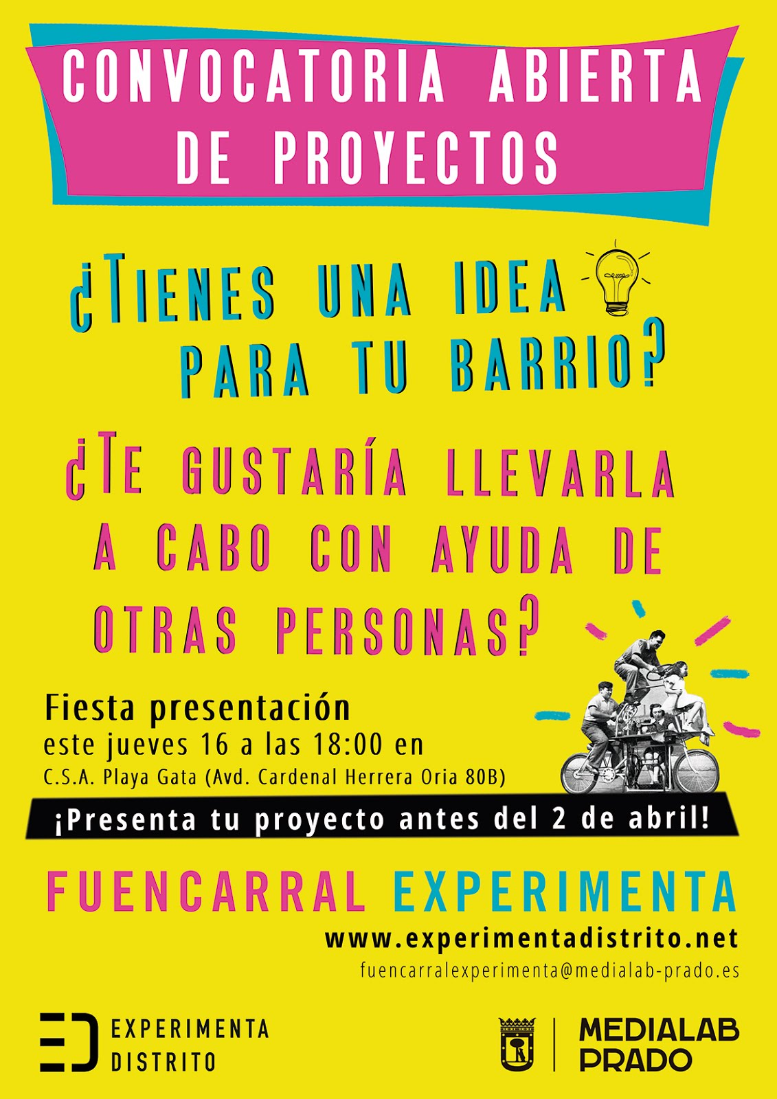 16 de marzo Fuencarral experimenta