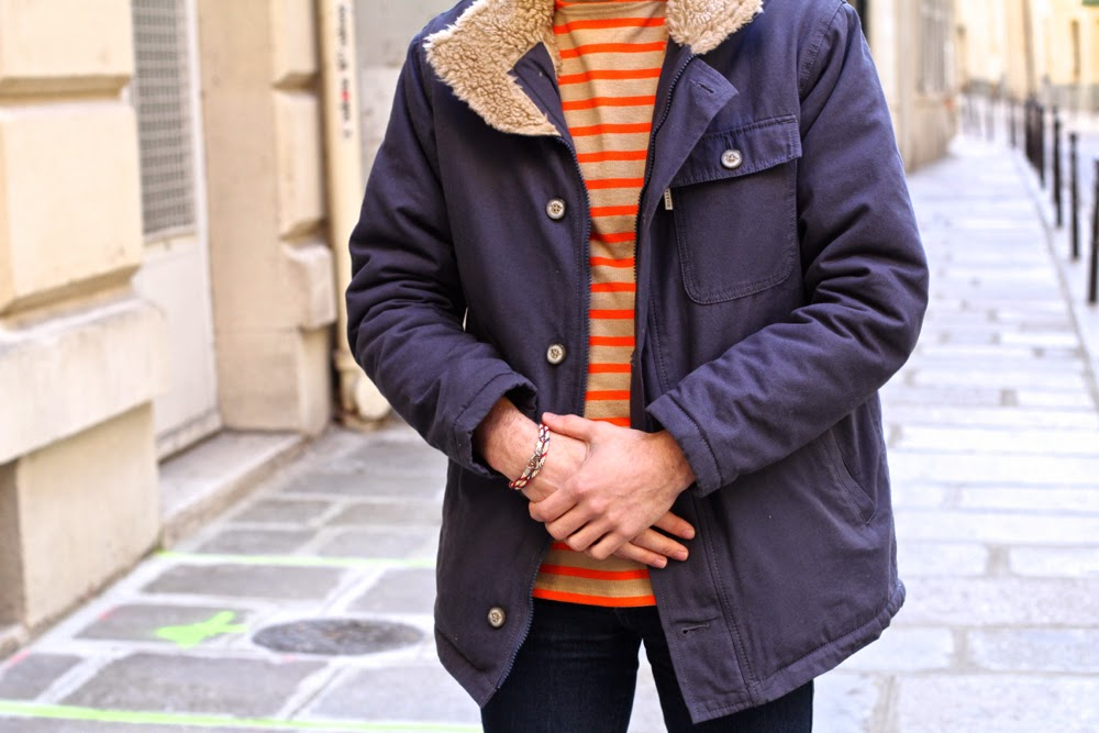 Saint-James_Marinière_Hoalen_Blouson-Mouton-Parka_Jeans-Slim_BLog-Mode-Homme-Paris-Preppy-Style_Mensfashion1