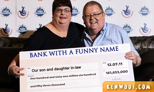 big mock cheque