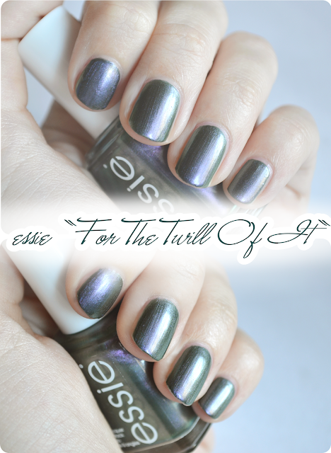 essie Herbstkollektion FOR THE TWILL OF IT