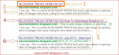 how to show up post title before blog title in search engine