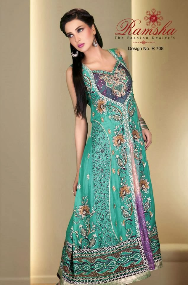 latest Party wear and wedding wear dress designs for Girls - hotblended