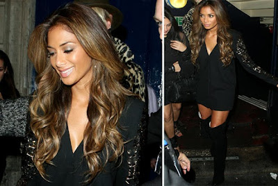 Thigh's the limit for Nicole Scherzinger as she flashes toned pins in sexy boots