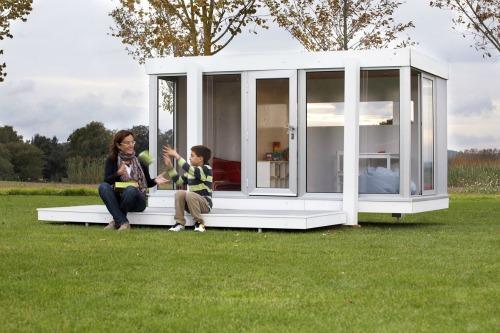 Ecolog a urbana casas para ni os for Casas madera para jardin