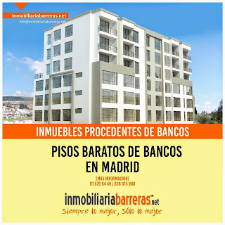 Ofertas pisos bancos Madrid - Oportunidades Bancaria con financiacion 100 %