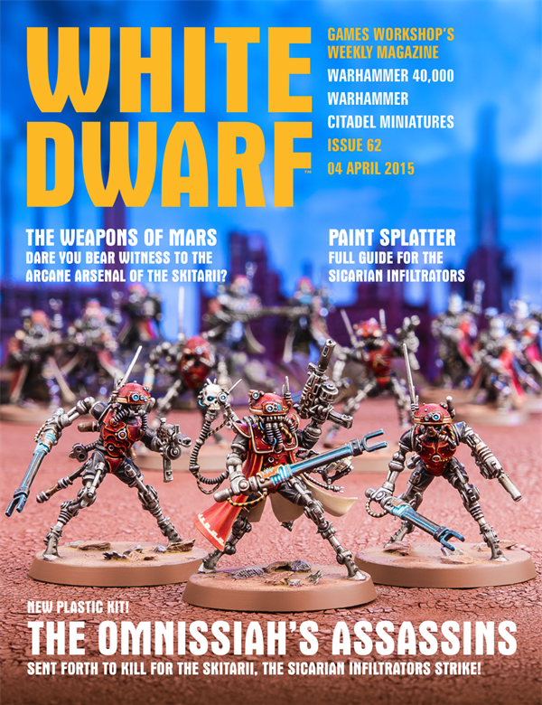 White Dwarf Weekly número 62 de abril