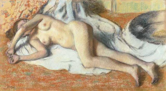 Degas, Femme nue couchée, © RMN (Musée d'Orsay)