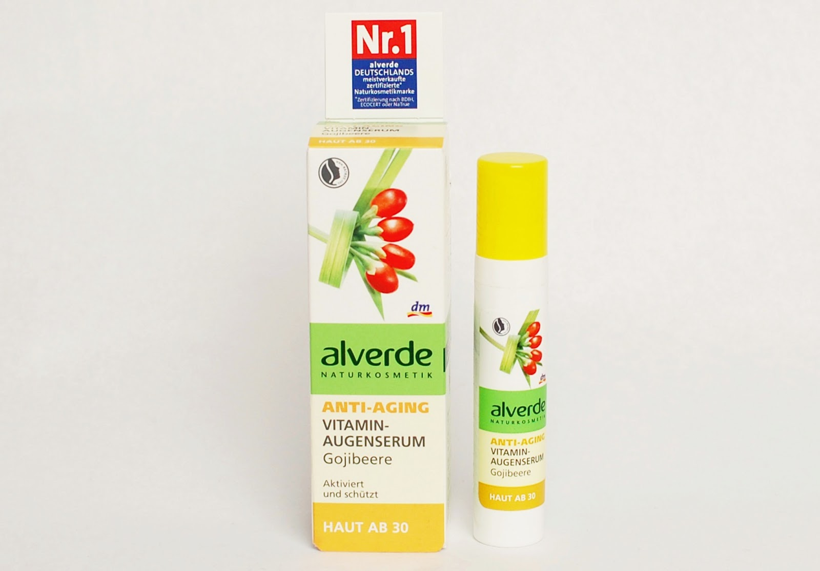 Alverde Anti-aging Vitamin Augenserum Gojibeere