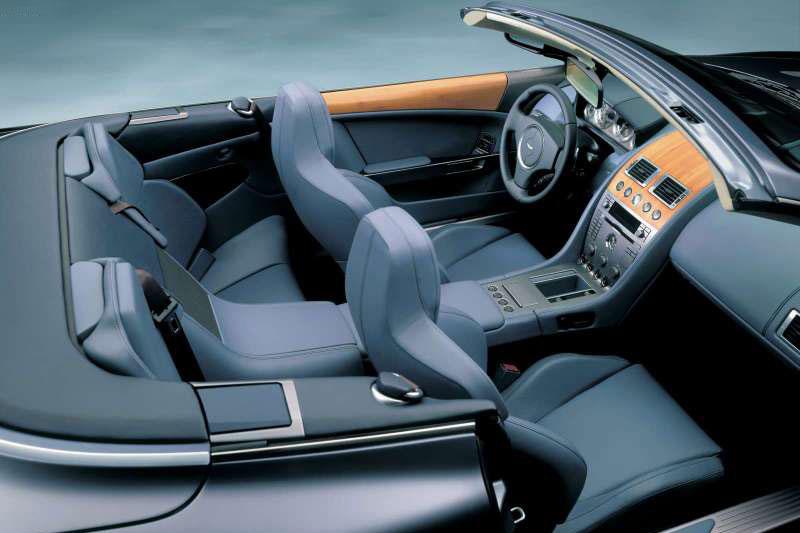 Top gear 2004 aston martin db9 volante for Aston martin db9 interior