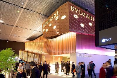 Bulgari at Baselworld 2013 in Hall 1.1 ©www.greenpebblesblog.com