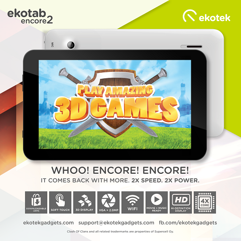 Ekotab Encore 2: Specs, Price and Availability