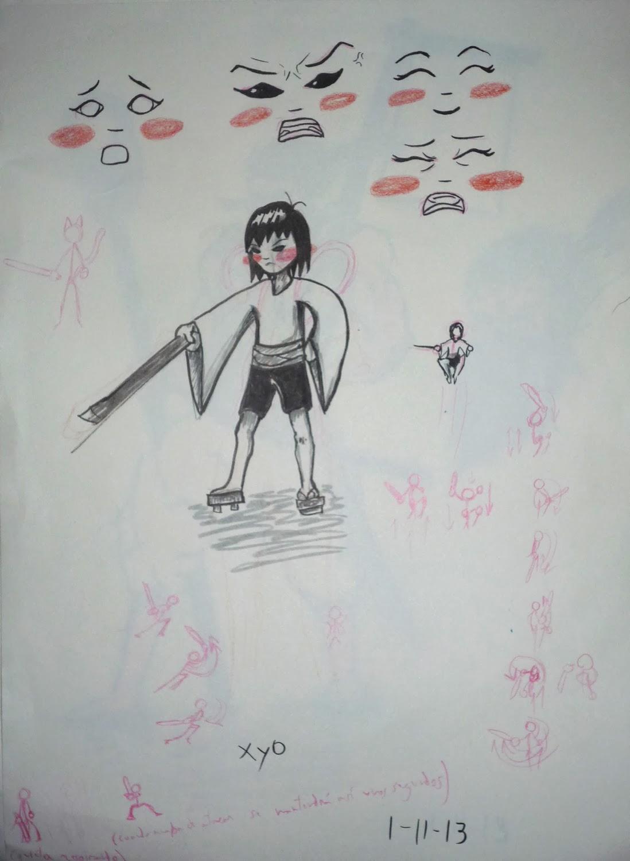 Boceto tinta Xyo 4