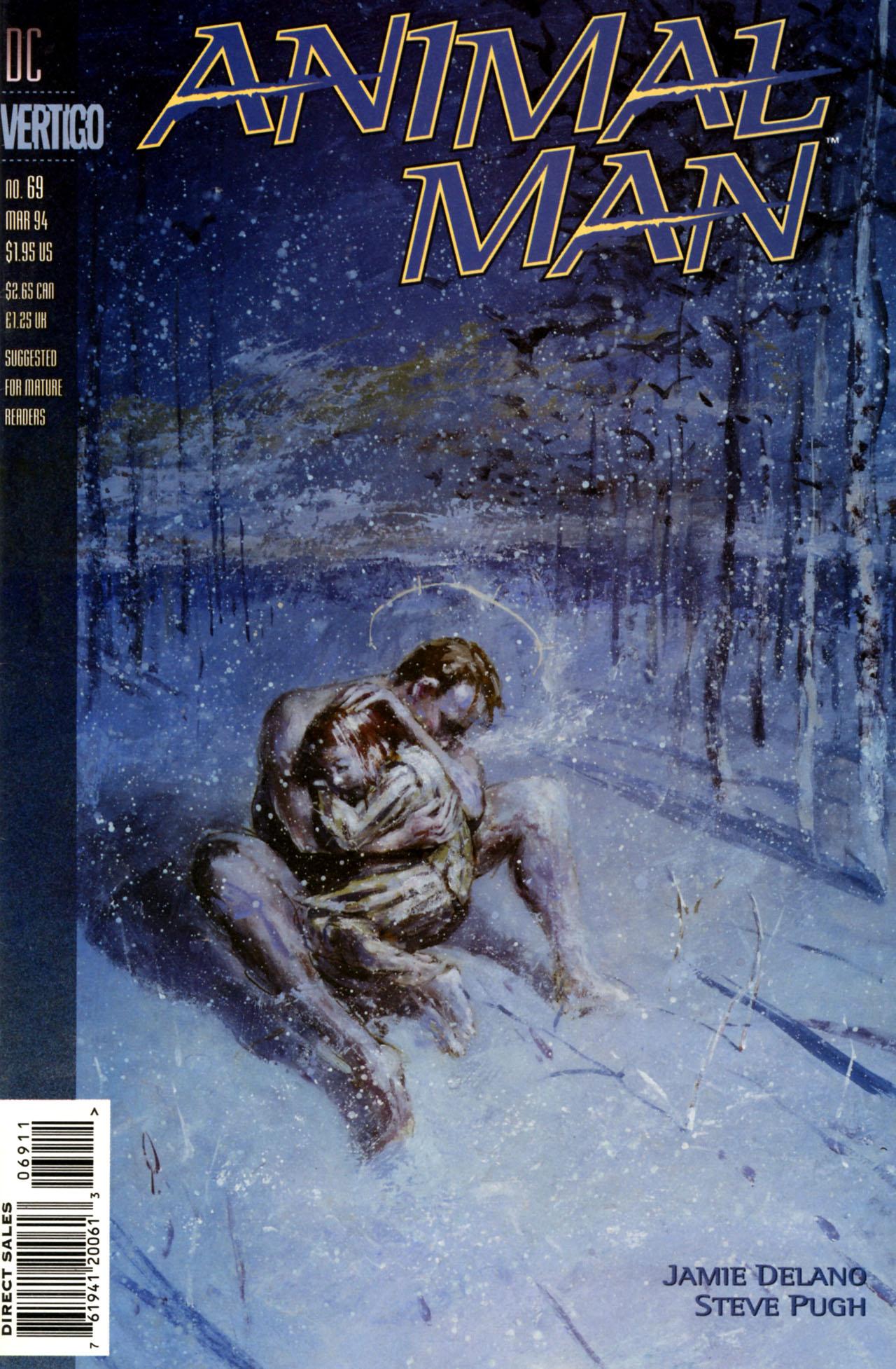 Animal Man (1988) 69 Page 1