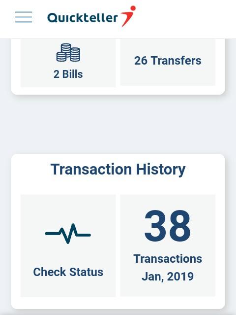 send money using QuickTeller app
