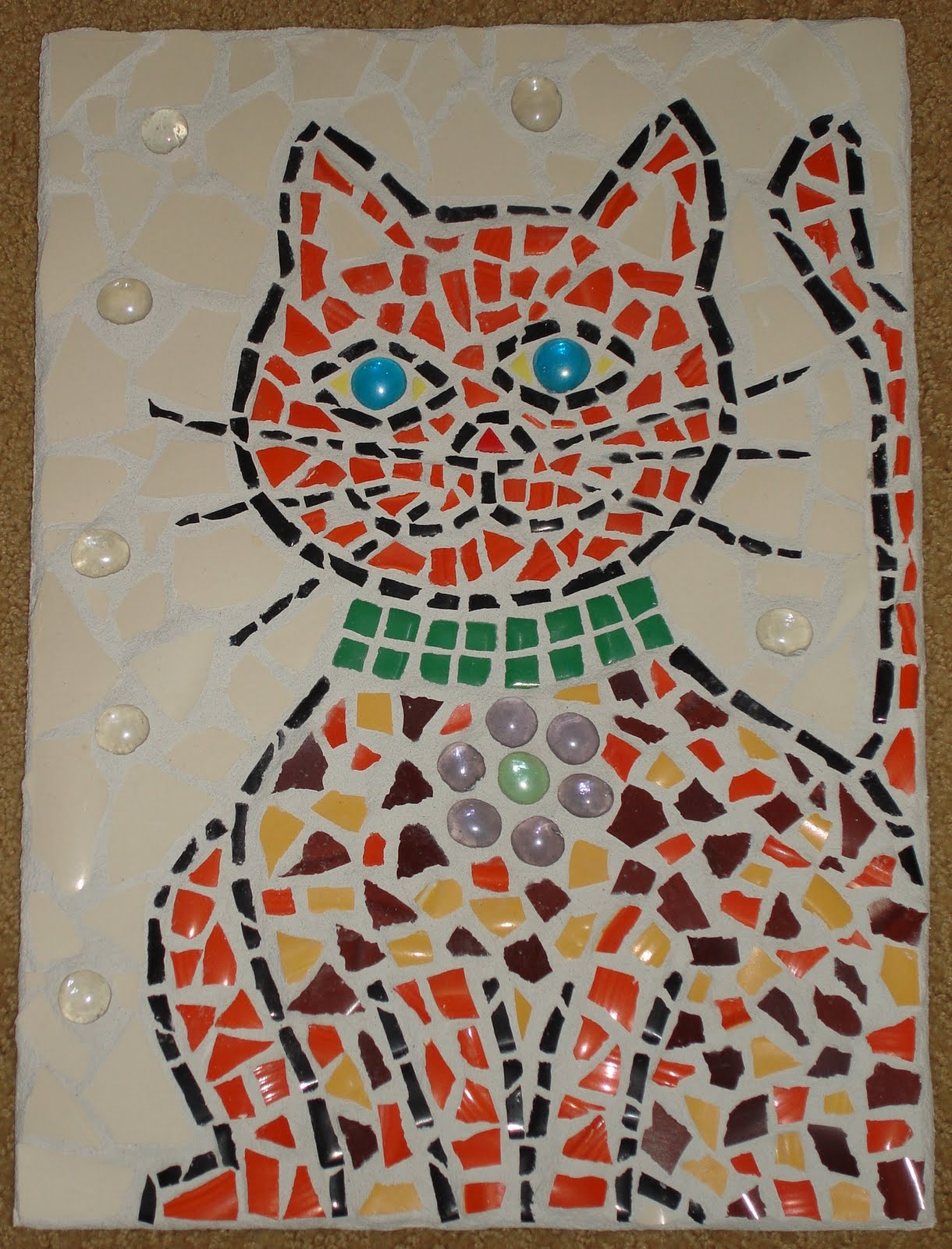 sheryl 39 s blog new mosaic designs cats