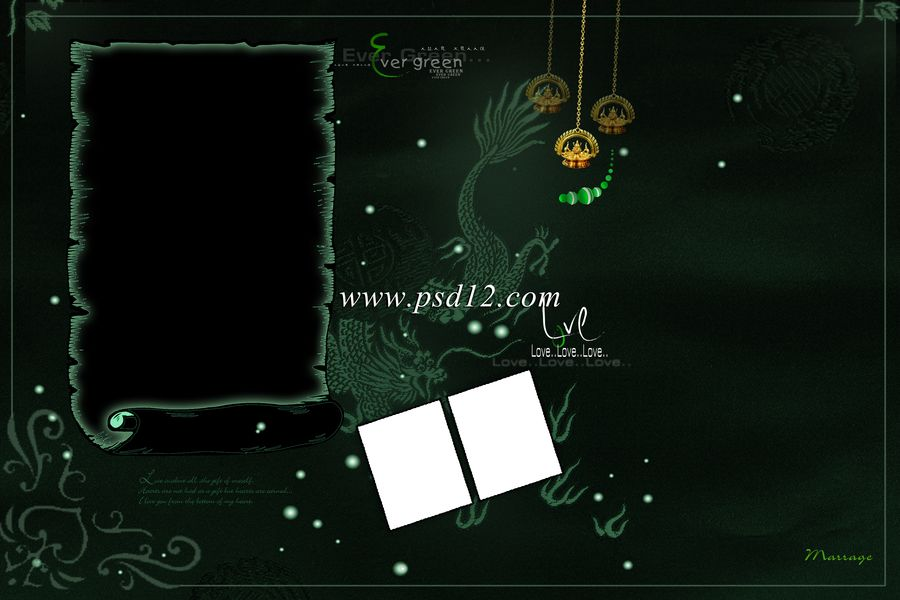 Photoshop Backgrounds: 12x18 PSD Wedding Album Templates File ...