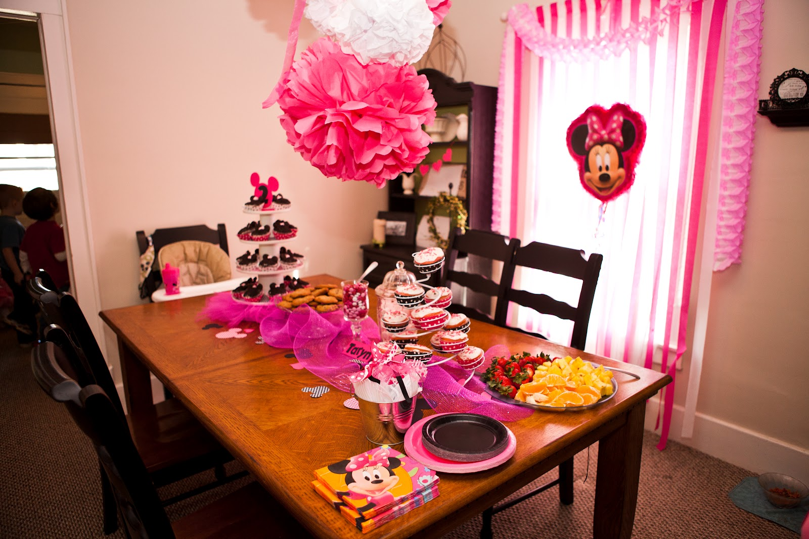 Vintage Chic Home Minnie Mouse Birthday Bash