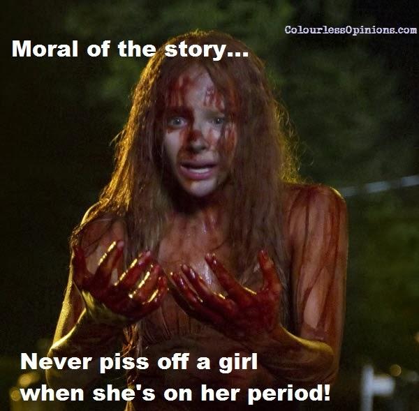 Carrie period meme still