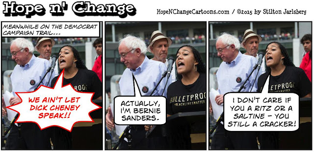 obama, obama jokes, political, humor, cartoon, conservative, hope n' change, hope and change, stilton jarlsberg, black lives matter, michael brown, bernie sanders, protestors