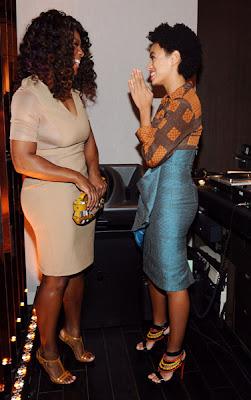 """Solange%2Bserena Solange Knowles en total look Burberry pour le lancement du parfum """"Burberry Body"""""""