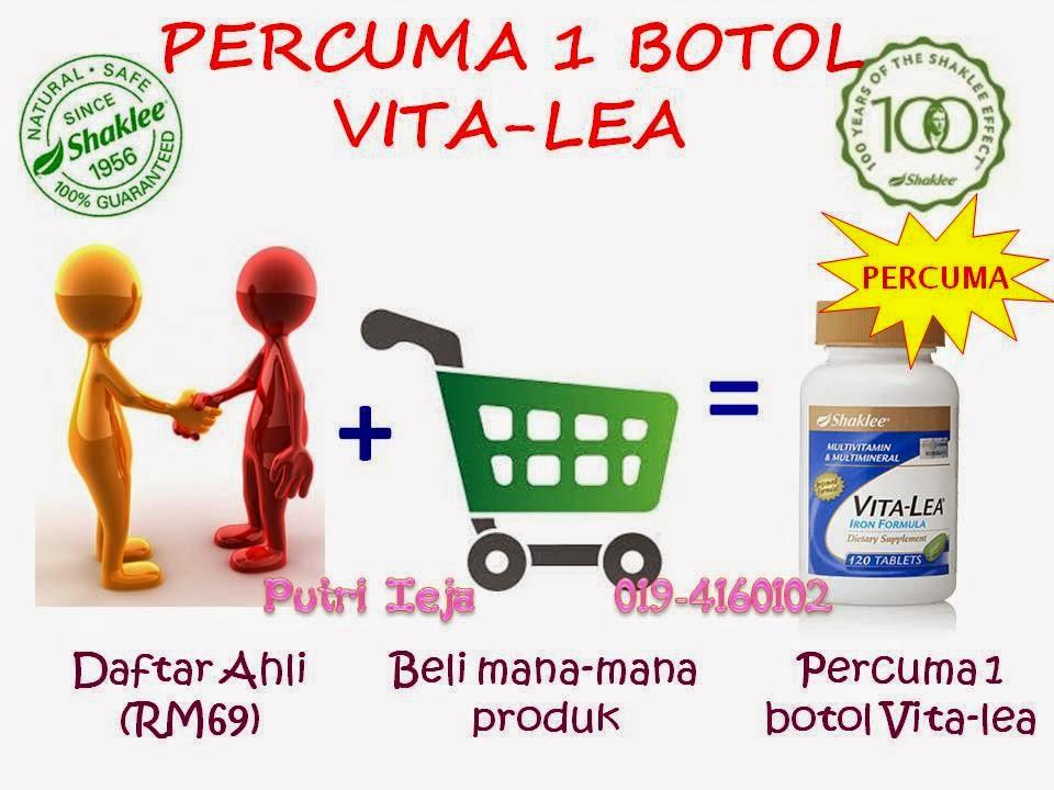 Percuma 1 Botol Vita-Lea