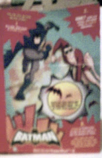 Batman: The Brave And The Bold side of Happy Meal box
