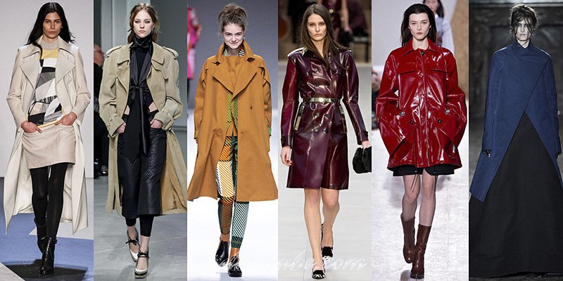Fall 2013 Fashion Raincoats Trends