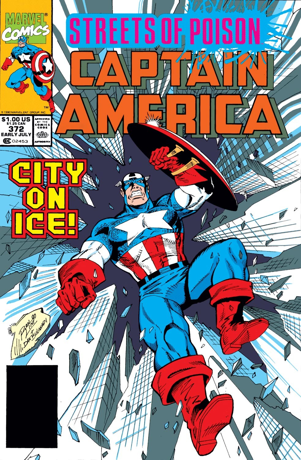 Captain America (1968) Issue #372 #305 - English 1