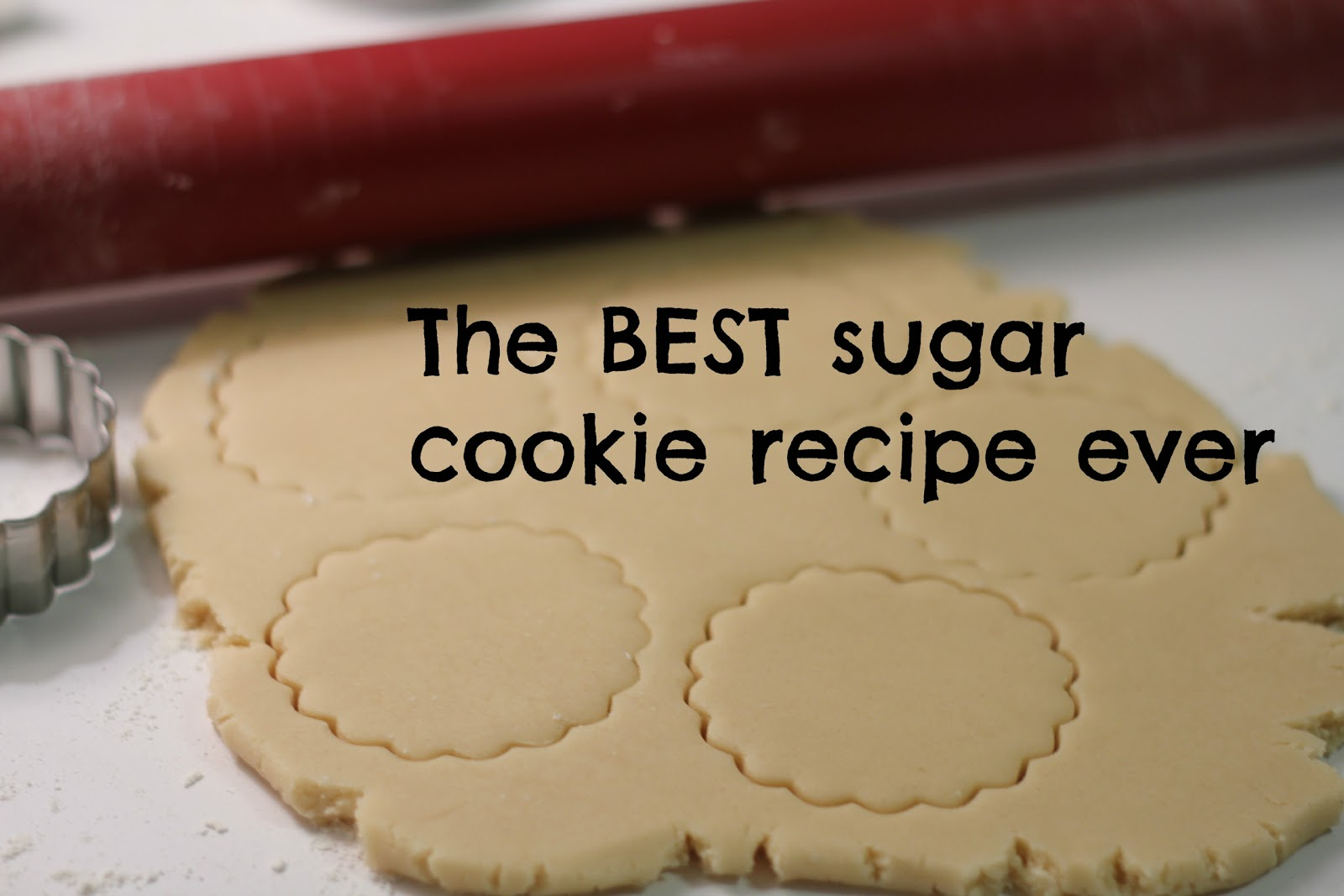 Crafty Cookies: The BEST Sugar Cookie Recipe Ever