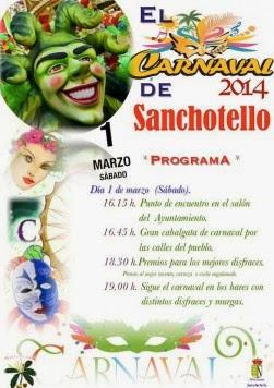 1/Marzo: Carnaval. Sanchotello