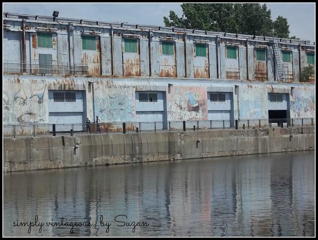 beautiful, waterfront, patina, dock,