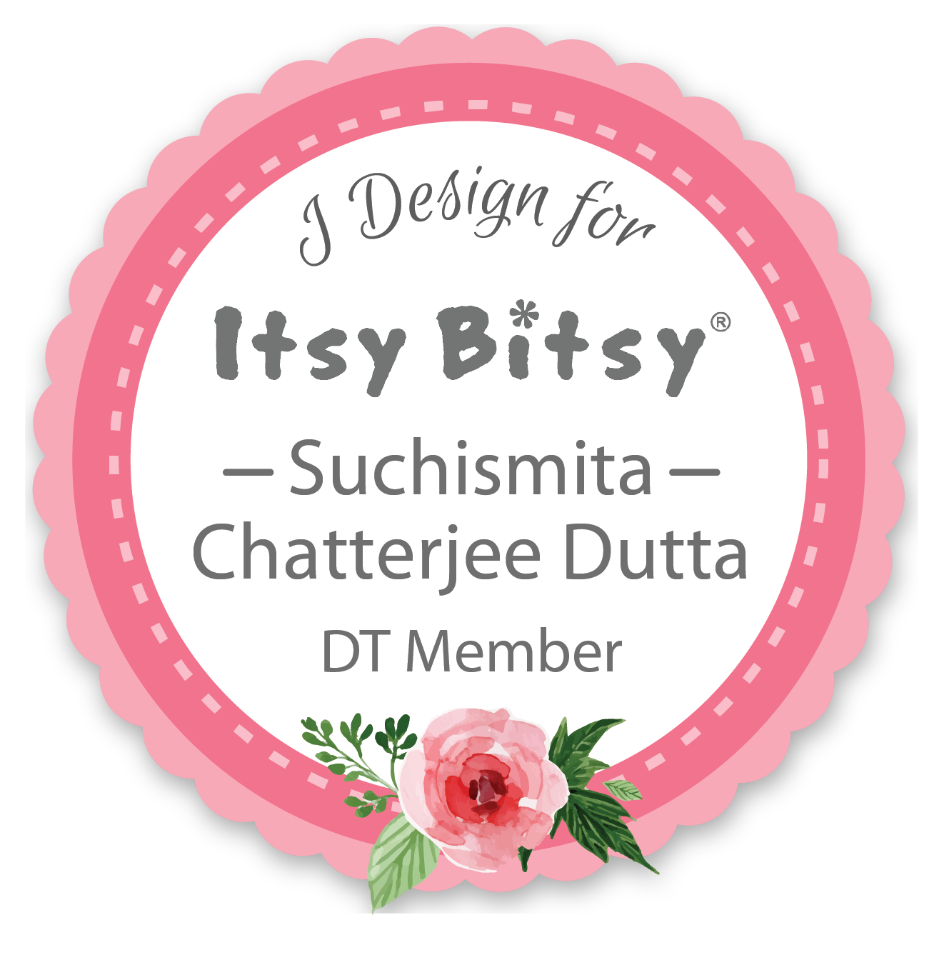 Itsy Bitsy Design Team January-June 2017