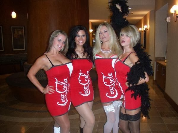 Coca Cola Ladies Costumes