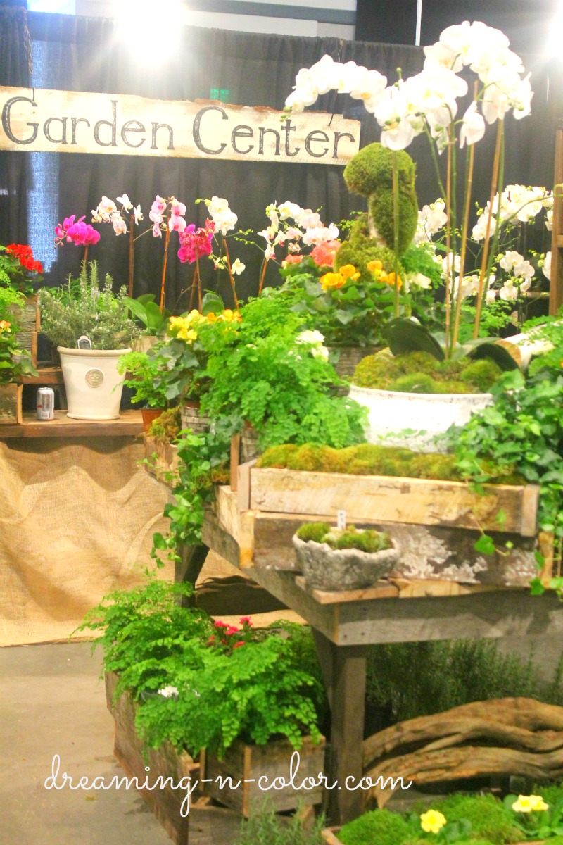 Dreamingincolor antiques and garden show of nashville Nashville home and garden show
