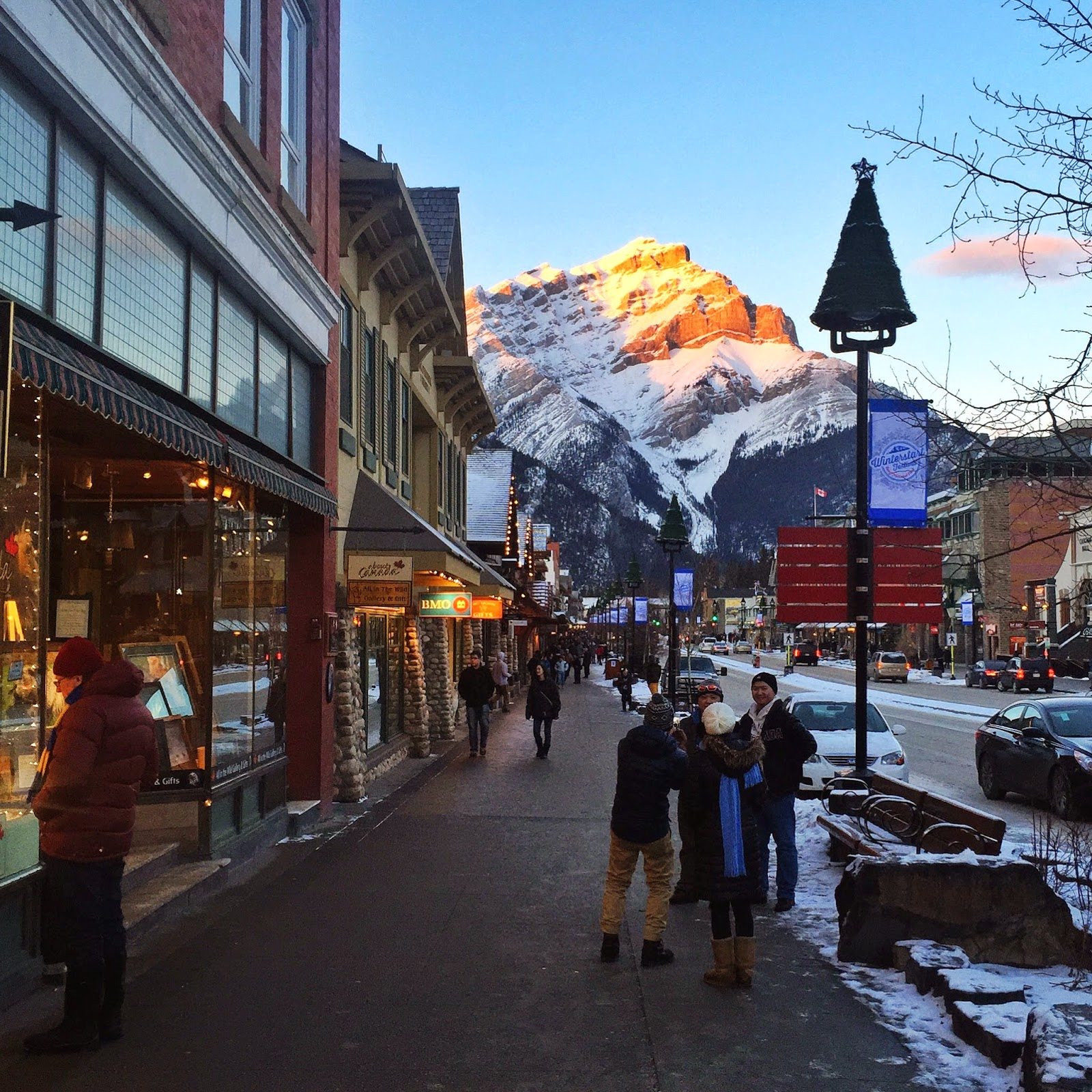 Banff Town in Alberta Canada by Jessica Mack, SweetDivergence