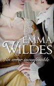 Un error inconfesable de Emma Wildes